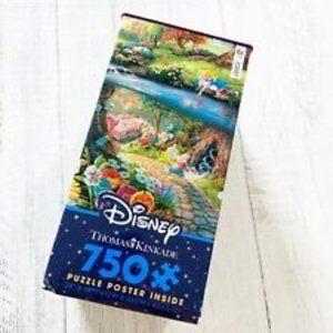 Thomas Kinkade Disney Puzzle Alice In Wonderland